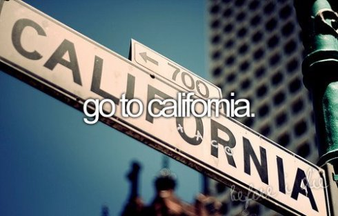 go to california