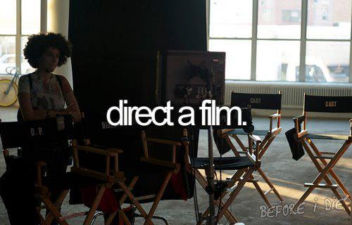 direct a film