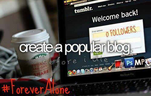 create a popular blog