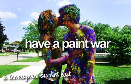 paint war